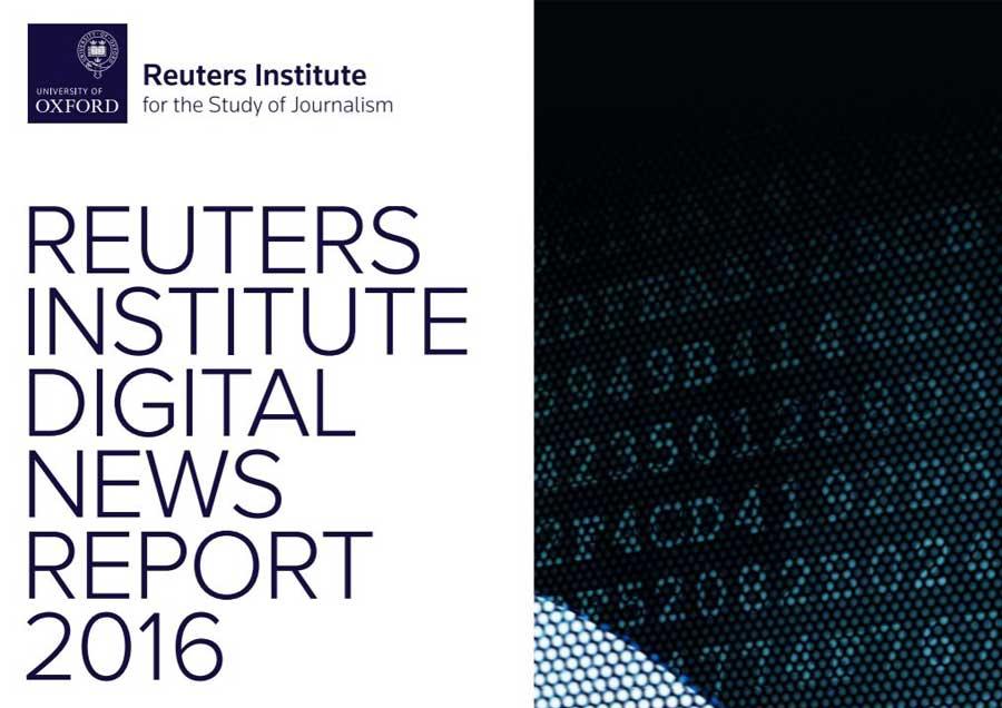 Reuters News Report 2016