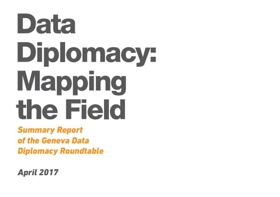 Data Diplomacy: Mapping the Field